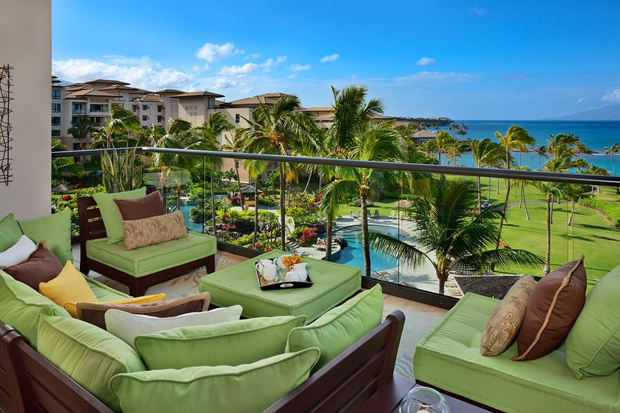 Ocean View Outdoor Covered Veranda