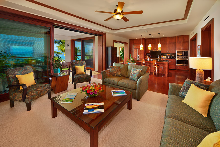 Sea Mist Villa 2403 - Luxury Furnishings and Flat Panel Television in Great Room
