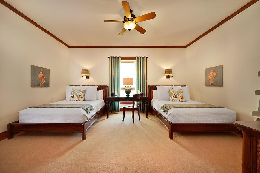 Bedroom Three with 2 Queen Beds