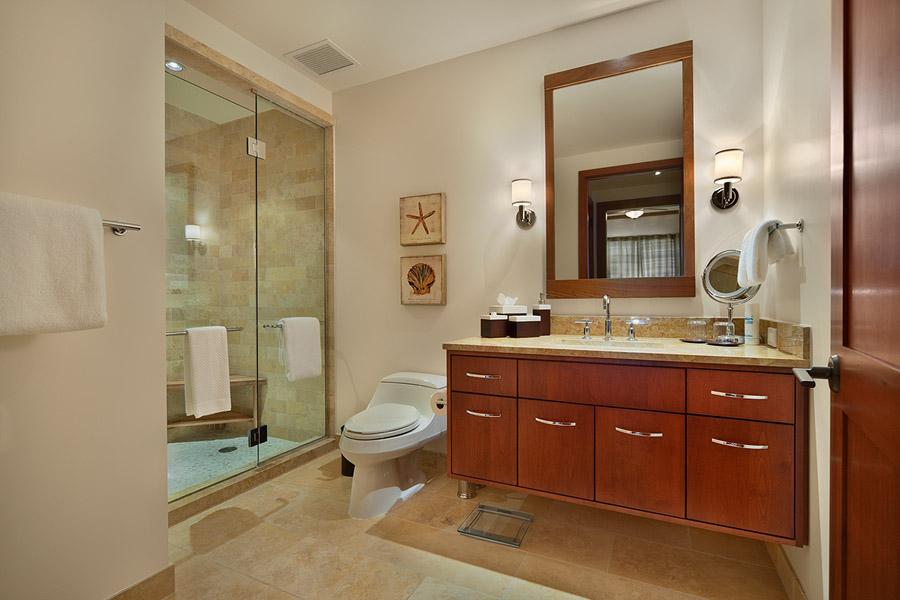 Third Bathroom with Glass Walk-in Shower