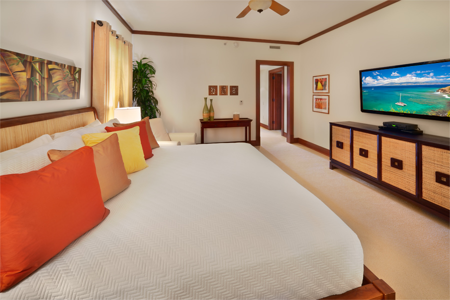 Second Master Bedroom with King Bed
