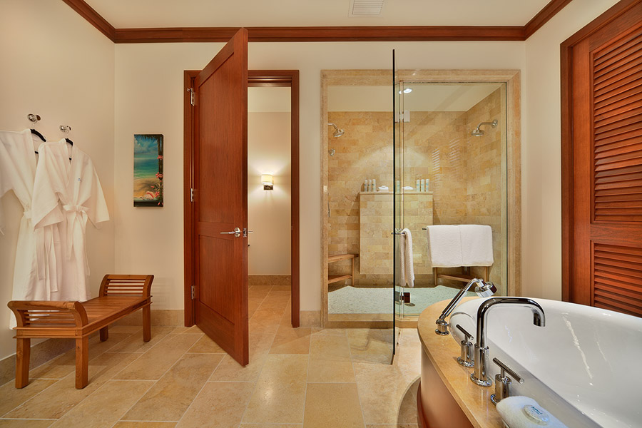 Sea Mist Villa 2403 - Master Bedroom Bath with Tub,Walk-in Shower, Dual Vanities