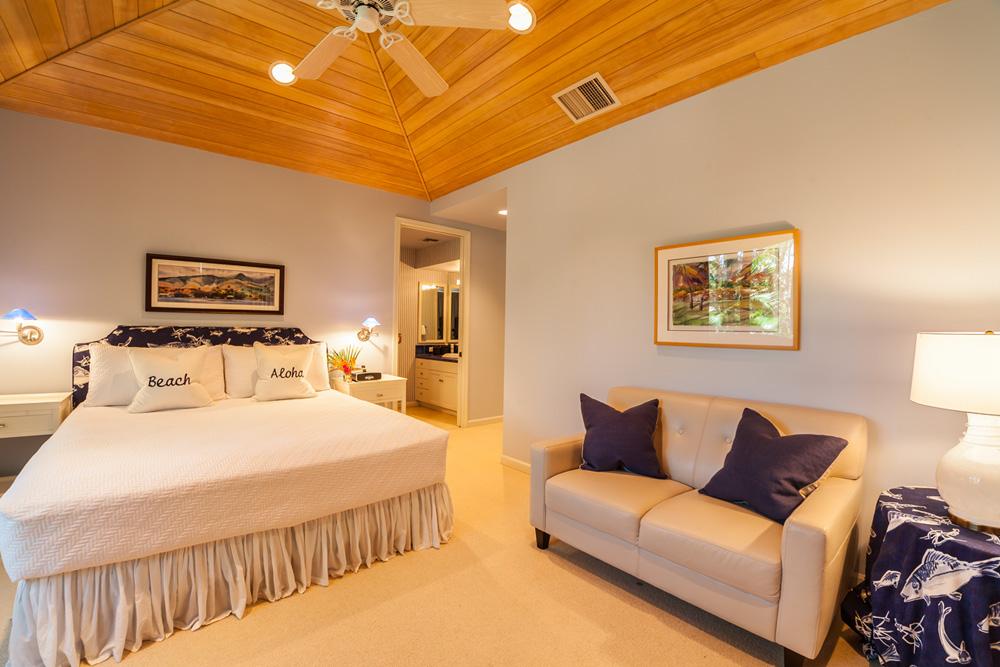Main Level Poolside King Master Bedroom