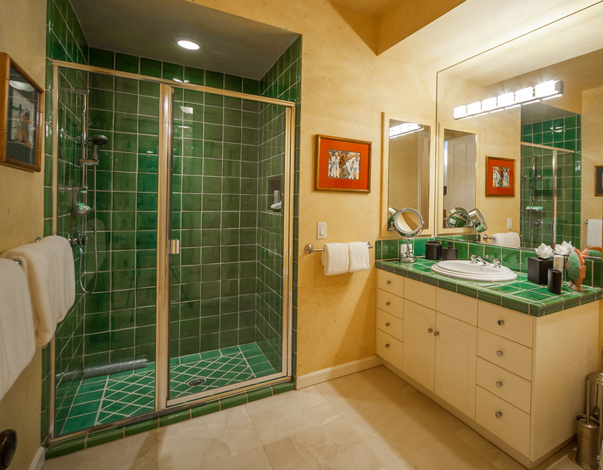 Bedroom Three Bathroom -walk-in shower