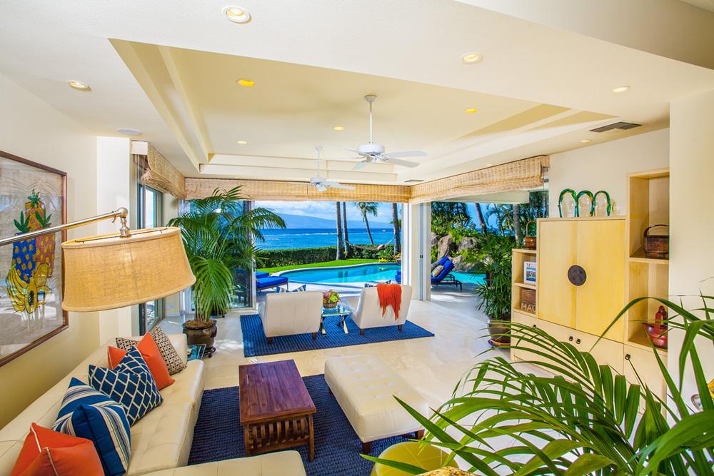 Ocean View Poolside Great Room