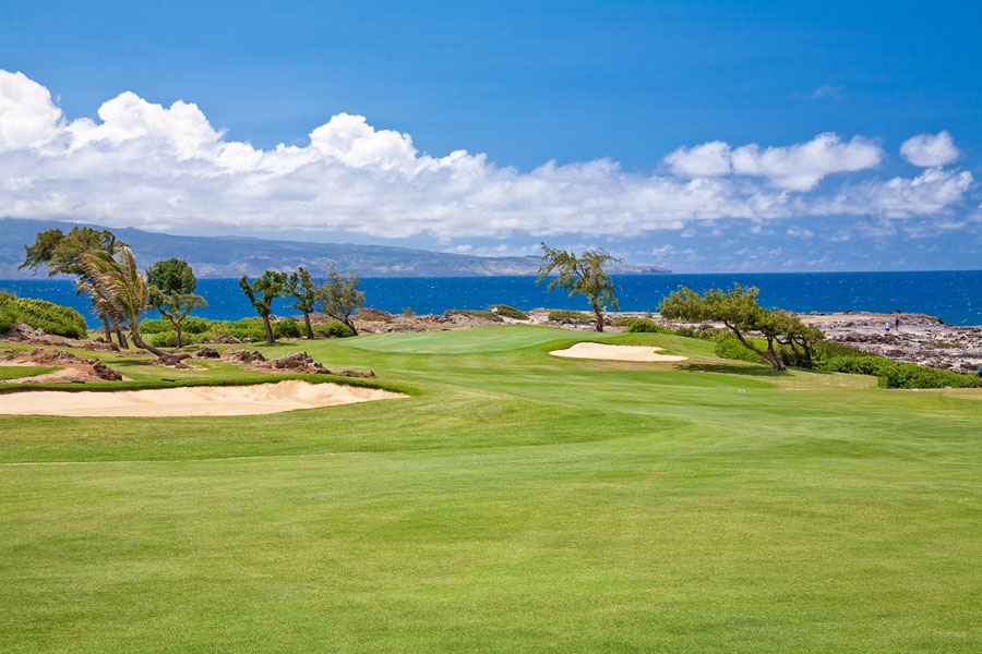 Play The Kapalua Bay Course with it`s Famous Oceanside Greens