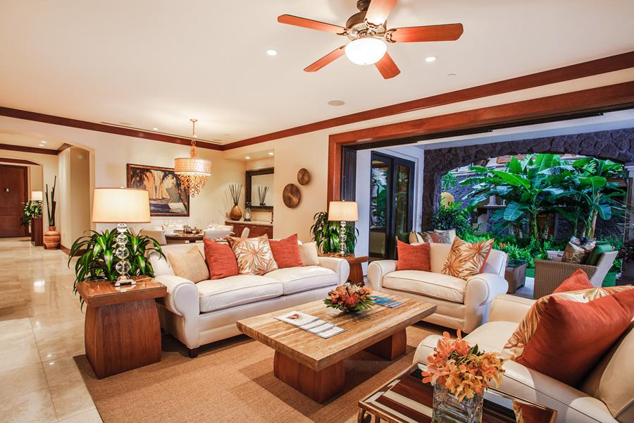 True Indoor/Outdoor Living with Covered Veranda