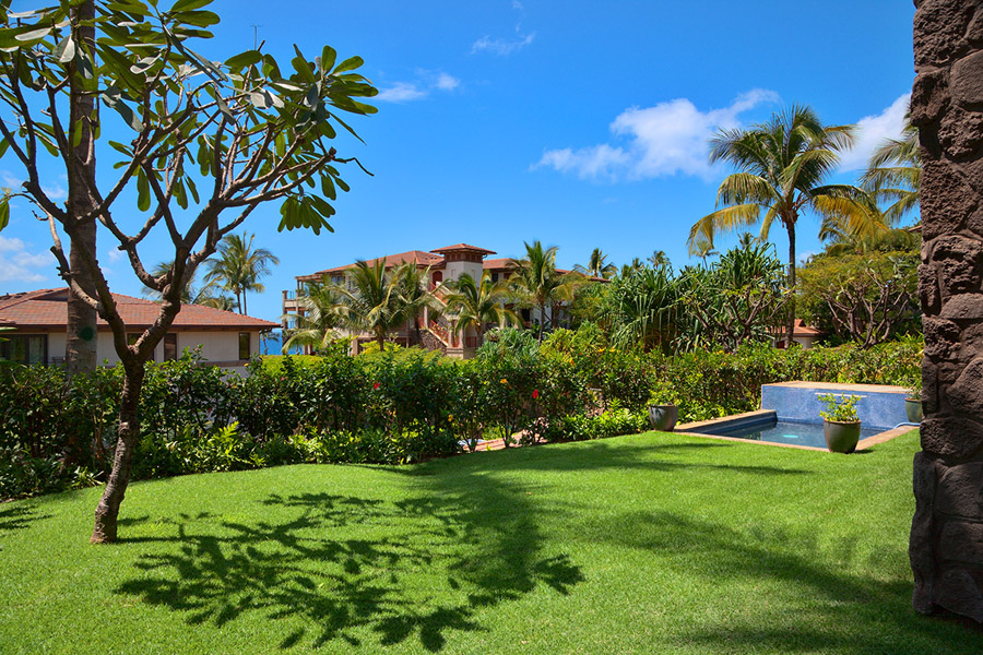 Large Private Grass Lawn and Garden