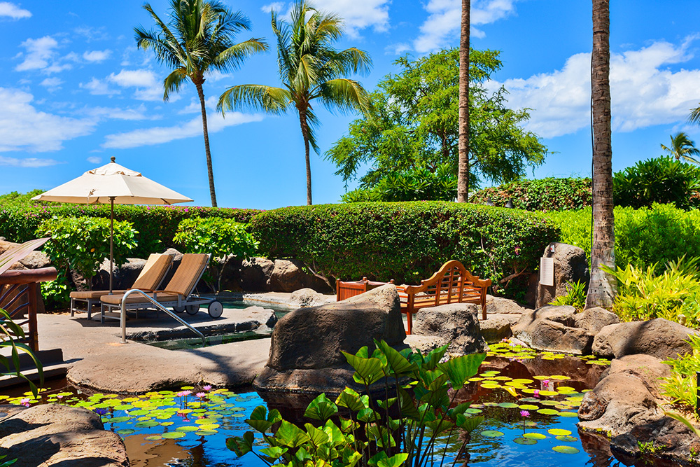 Beach Front Adult-Use (18 and over) Whirlpool Spa in Wailea Beach Villas