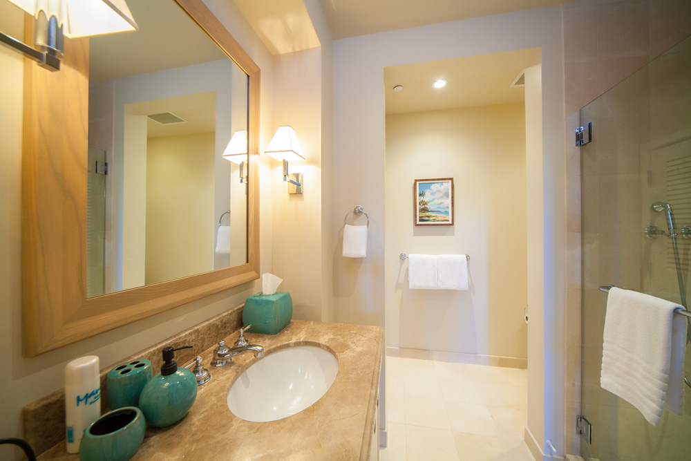 Third Bedroom Bath with Glass Shower