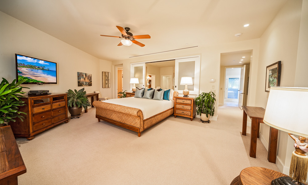Ocean View Master Bedroom with King Bed