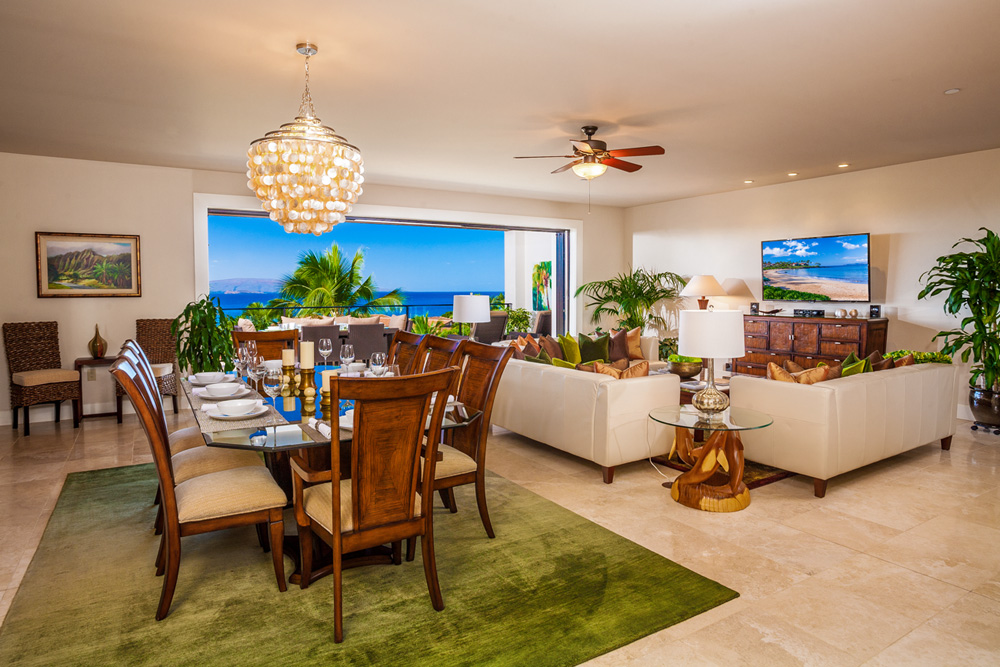 Luxury vacation rentals usa - Hawaii - Maui - Wailea beach villas - Blue Horizons K308 - Image 1/50