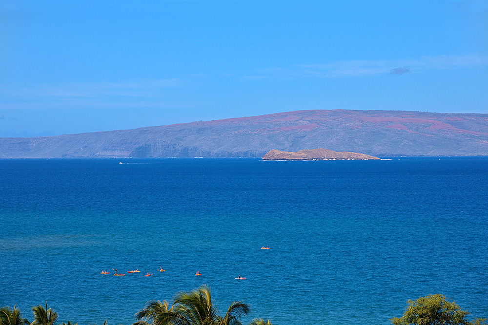 Close up View of Molokini and Offshore Kayaking!