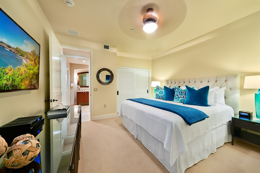 Second Bedroom with King Bed and Private Bath