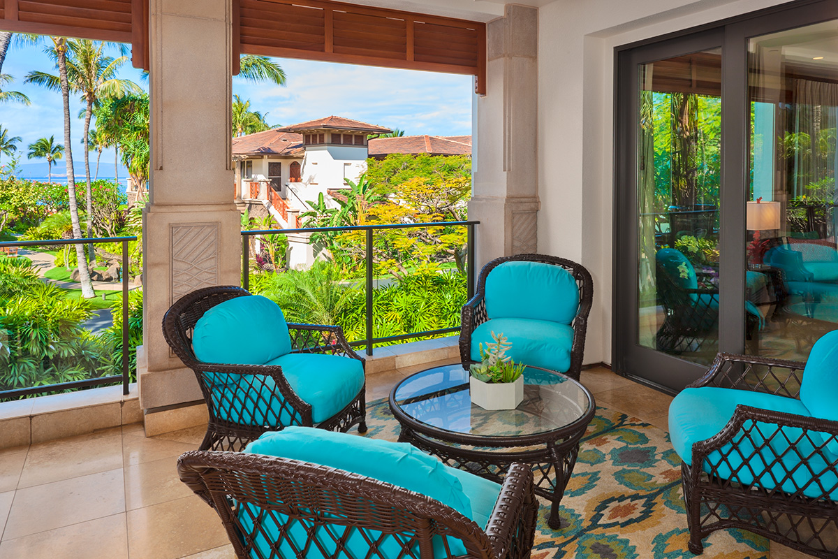 Ocean View Covered Dining Terrace with BBQ Grill and Outdoor Dining for Six