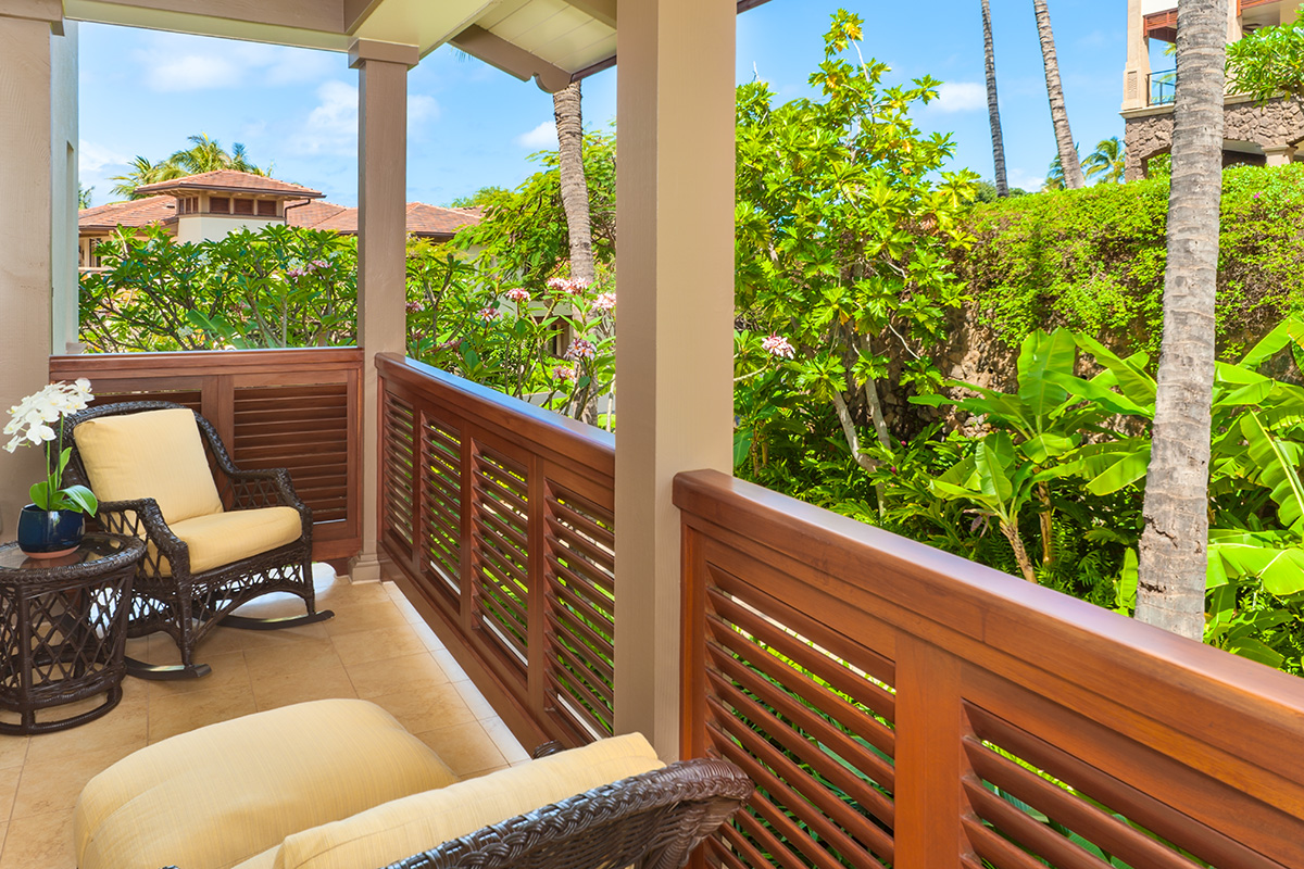 Private En-Suite Bath and Direct Access to Ocean View Terrace