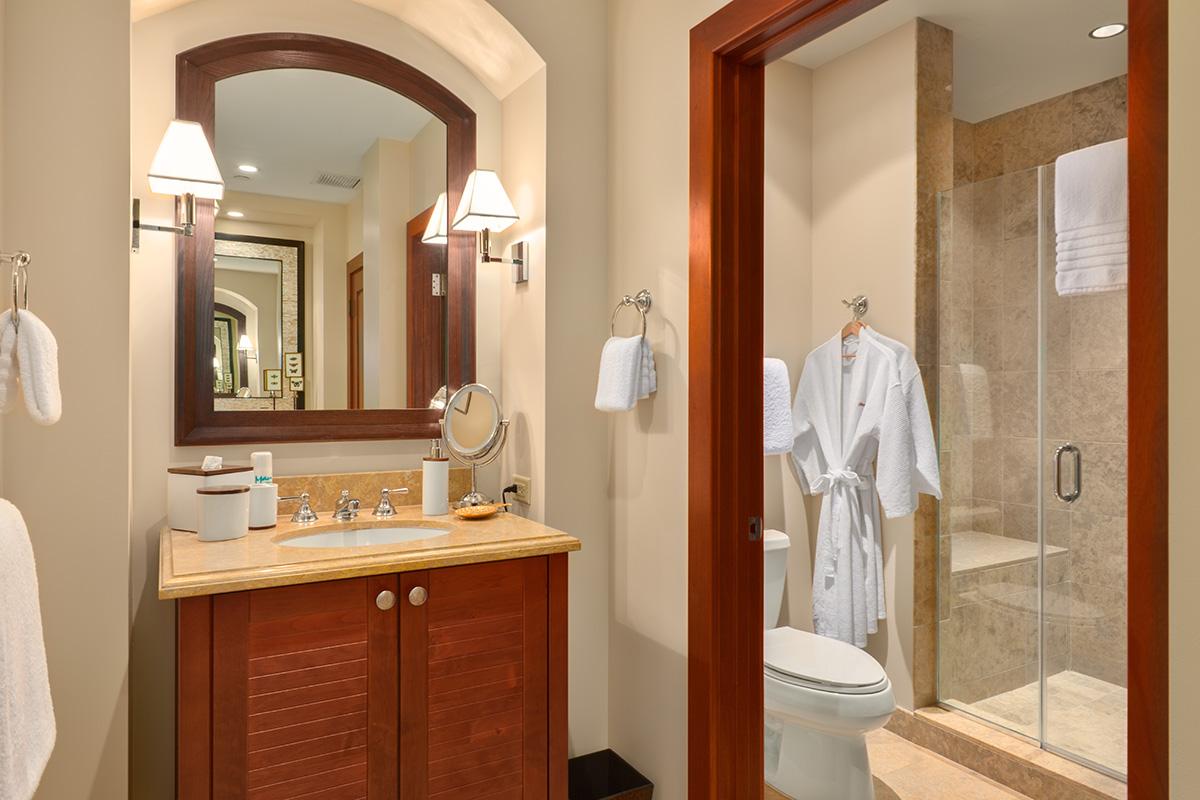 Third Garden View Bedroom and Ensuite Bathroom