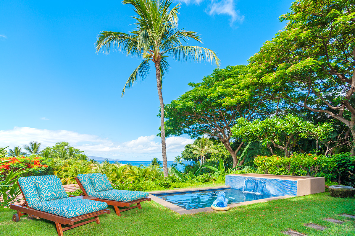 Coco Palms Pool Villa D101 at Wailea Beach Villas with Plunge Pool